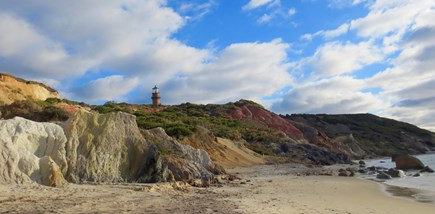 Aquinnah Martha's Vineyard vacation rental - Gay Head Light House Viewed from Gay Head/Aquinnah Beach