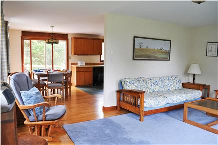 Edgartown Martha's Vineyard vacation rental - Living Room has seating for seven