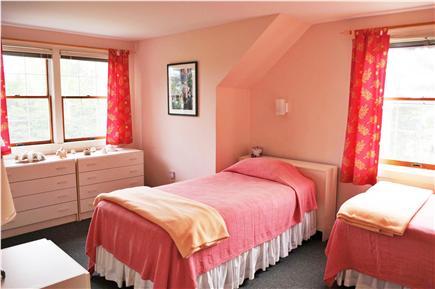 Edgartown Martha's Vineyard vacation rental - Second bedroom -  twin beds