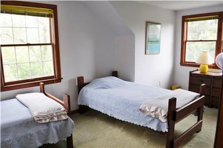Edgartown Martha's Vineyard vacation rental - Third bedroom , bathroom connects with second bedroom