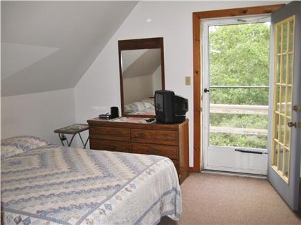 West Tisbury Martha's Vineyard vacation rental - Master bedroom with balcony