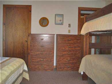 West Tisbury Martha's Vineyard vacation rental - First floor bunk room