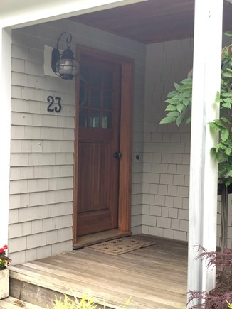 Oak Bluffs Martha's Vineyard vacation rental - Front door