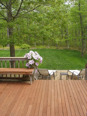 Oak Bluffs Martha's Vineyard vacation rental - Many decks and large yard