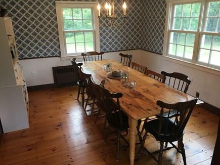 Katama - Edgartown, Edgartown Martha's Vineyard vacation rental - Dining Room, seating for 8-10