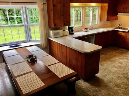 Katama - Edgartown, Edgartown Martha's Vineyard vacation rental - Kitchen, seating for 8-10