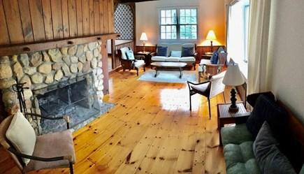 Katama, Edgartown Martha's Vineyard vacation rental - Living Room, opens to Dining room