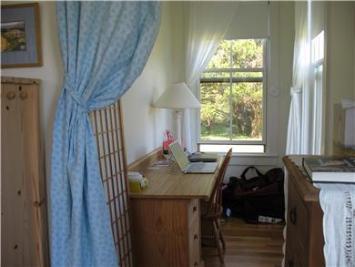 Edgartown Martha's Vineyard vacation rental - Peaceful office nook off master bedroom