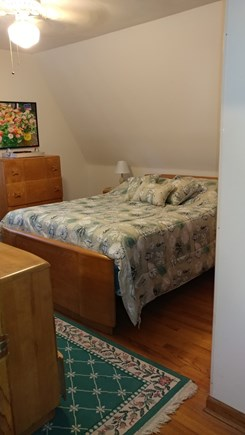 Oak Bluffs Martha's Vineyard vacation rental - Spacious master bedroom with a queen bed, and its own bathroom