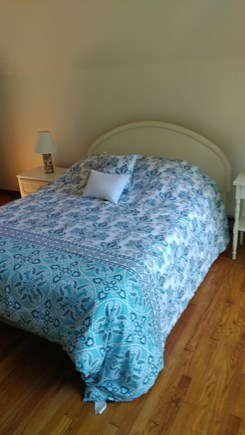 Oak Bluffs Martha's Vineyard vacation rental - Upstairs West bedroom with queen bed and its own outside balcony