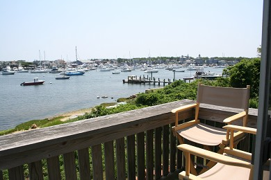 Oak Bluffs Martha's Vineyard vacation rental - Summer view toward Gingerbread Cottages