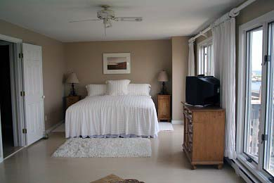 Oak Bluffs Martha's Vineyard vacation rental - Upstairs Master/king.  Has harbor view.