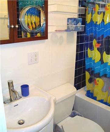 Chilmark Martha's Vineyard vacation rental - Two identical bathrooms--one up and one down