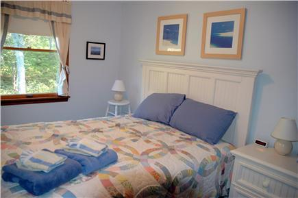 West Tisbury, Lambert's Cove Martha's Vineyard vacation rental - 2nd BR: Queen, closet, faces side & back