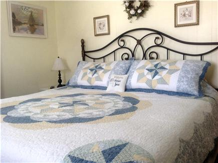 Vineyard Haven Martha's Vineyard vacation rental - Spacious King Bedroom with water view and air conditioning