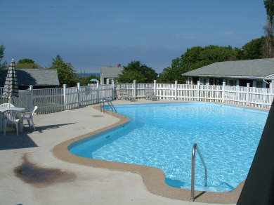 Vineyard Haven Martha's Vineyard vacation rental - Pool for guest use with tables, chairs, & chaise lounges