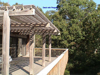 Oak Bluffs, Harthaven Martha's Vineyard vacation rental - Large Deck