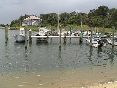 Oak Bluffs, Harthaven Martha's Vineyard vacation rental - Harthaven Harbor leads into Nantucket Sound