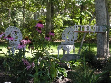 Oak Bluffs, Harthaven Martha's Vineyard vacation rental - Beautiful Garden