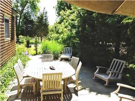 Oak Bluffs Martha's Vineyard vacation rental - Bluestone Patio