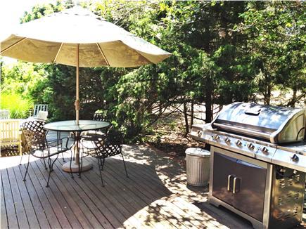 Oak Bluffs Martha's Vineyard vacation rental - Back Deck & Patio