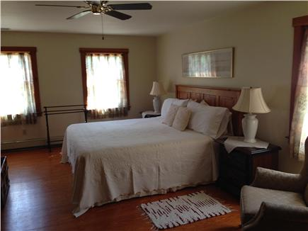 Edgartown Martha's Vineyard vacation rental - Master bedroom, handsome, spacious, ample room for a crib, 2nd fl