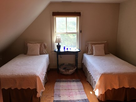 Edgartown Martha's Vineyard vacation rental - Twin room, charming, 2nd floor, 2 twins can convert to 1 king