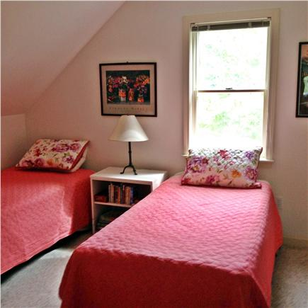 West Tisbury Martha's Vineyard vacation rental - Bedroom with twin beds
