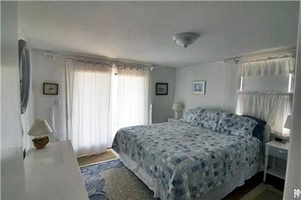 Madaket Nantucket vacation rental - King bedroom has water views and opens to a deck
