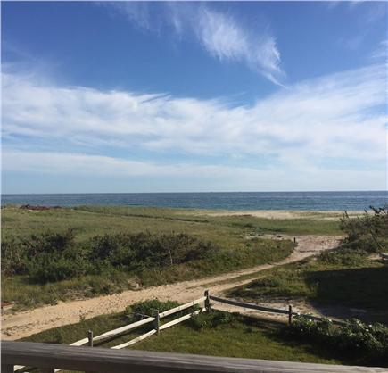 Madaket Nantucket vacation rental - Ocean view from upper deck (living room has same view)