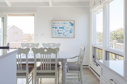 Madaket Nantucket vacation rental - Expansive windows upstairs offer wonderful light