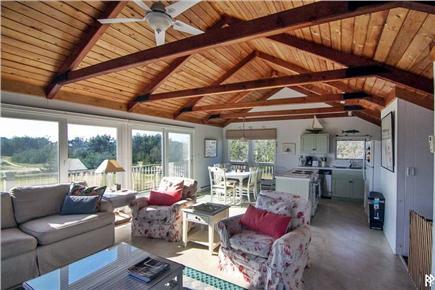 Madaket Nantucket vacation rental - Interior view from the living room (pre-2016 renovation)
