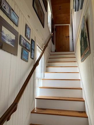 Nantucket town, Centre of Historic Nantucket Nantucket vacation rental - Stairway to Master