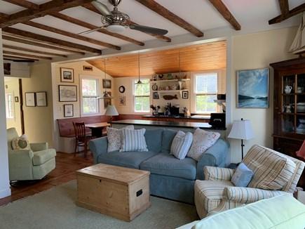 Nantucket town, Centre of Historic Nantucket Nantucket vacation rental - The Great Room/Kitchen