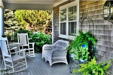 Siasconset Nantucket vacation rental - Relaxing Porch