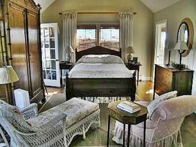 Siasconset Nantucket vacation rental - Master Bedroom with deck