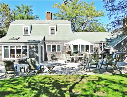 Nantucket town Nantucket vacation rental - Backyard View - Complete Privacy, professionally landscaped