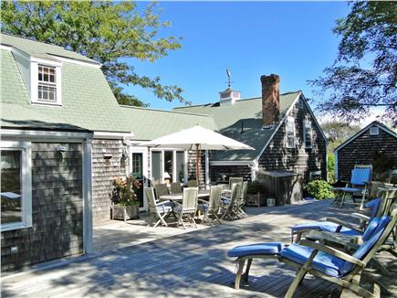 Nantucket town Nantucket vacation rental - Main House is large - Extends back into very private estate