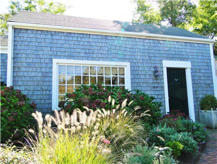 Nantucket town Nantucket vacation rental - Adjacent Guest Cottage-has one bedroom with Queen bed