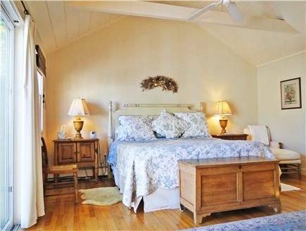 Nantucket town Nantucket vacation rental - Master Bedroom - King bed, sliding doors to the deck