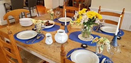 Dionis Nantucket vacation rental - Dining Room - Enjoy Spring