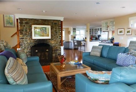 Dionis Nantucket vacation rental - Living Room - Kitchen Areas
