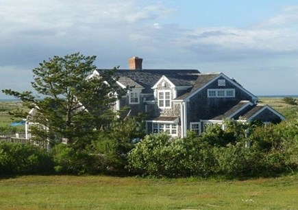 Dionis Nantucket vacation rental - View From the Road