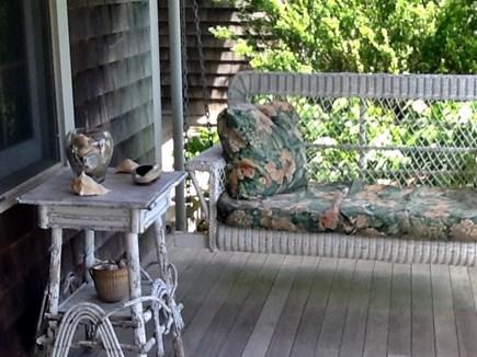 Nantucket town Nantucket vacation rental - Relaxing Porch