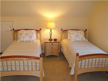 Brant Point Nantucket vacation rental - 2nd Floor Bedroom with Two Twin Beds & A/C