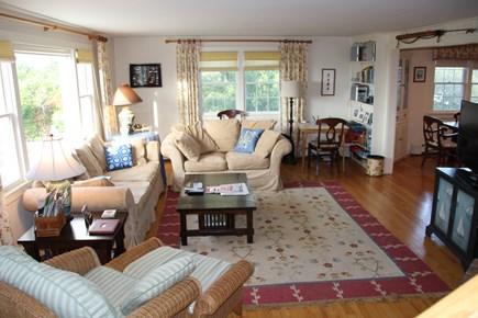 Madaket, Nantucket Nantucket vacation rental - Living room... board games and library, hi speed WiFi