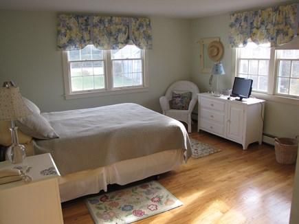 Madaket, Nantucket Nantucket vacation rental - Master bedroom overlooks the large play area