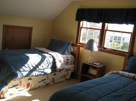 Madaket, Nantucket Nantucket vacation rental - Upstairs bunk room. Two extra long twins and water view
