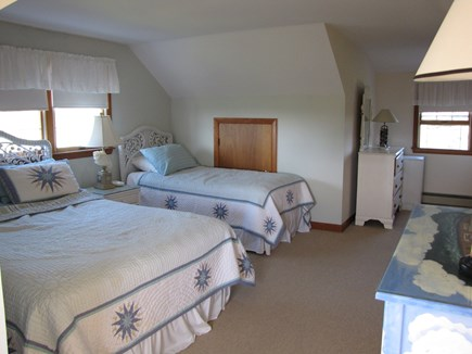 Madaket, Nantucket Nantucket vacation rental - Upstairs guest room.  Queen, twin, and water view