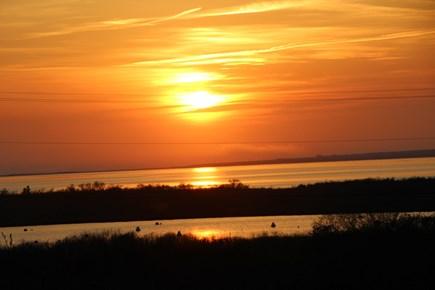 Madaket, Nantucket Nantucket vacation rental - Sunset drinks on the front deck?  You bet!